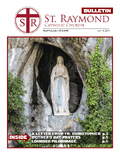 Bulletin – May 12, 2019 – Fourth Sunday of Easter
