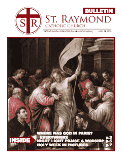 Bulletin – April 28, 2019 – Second Sunday of Easter