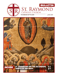 Bulletin – June 2, 2019 – The Ascension of the Lord